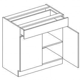 Skříňka dolní se zásuvkou ALINA D80 S/1