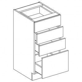 Skříňka dolní se zásuvkami ALINA D40 S/4