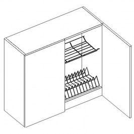 Skříňka horní s odkapávačem 60cm v.72cm ALINA W60 SU