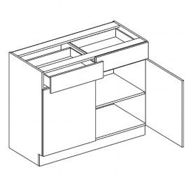 Skříňka dolní 100cm AMELIA D100 S/2