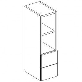 Regál horní se zásuvkami 20cm v.72cm ANNA WO20 S/2