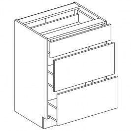Skříňka dolní se zásuvkami LAURA D60 S/3