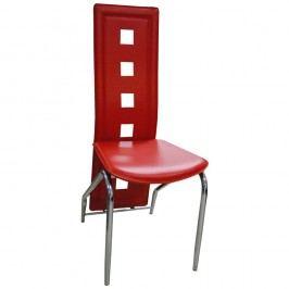 Jídelní židle F060 červená