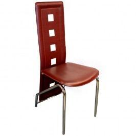 Jídelní židle F060 vínová