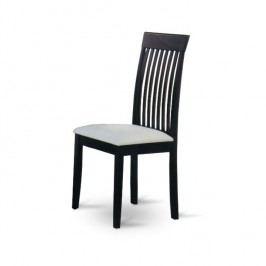 Jídelní židle v jednoduchém moderním provedení wenge ASTRO