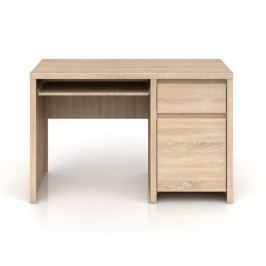 Psací stůl KASPIAN BIU1D1S/120 dub sonoma