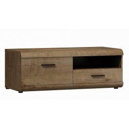 Televizní stolek v moderním dekoru dub lefkas KN119