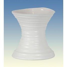 Váza keramická - bílá matná OBK665173