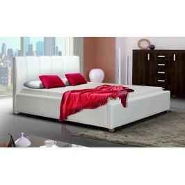 Čalouněná manželská postel s možností výběru potahu typ I 160 KN242