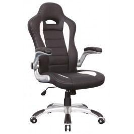 Kancelářské křeslo Q-024 bílá/černá