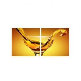 Sada obrazů 2ks, motiv: aperitiv OBK013
