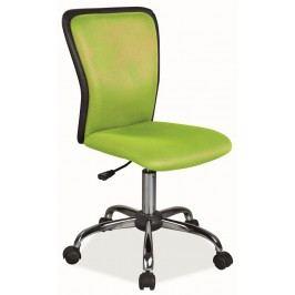 Kancelářská židle zelená/černá KN1819