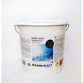 HANSCRAFT BAZÉN - MULTI tablety 3v1 - 2,4 kg