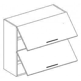 W80PP horní skříňka výklopná SANDY STYLE