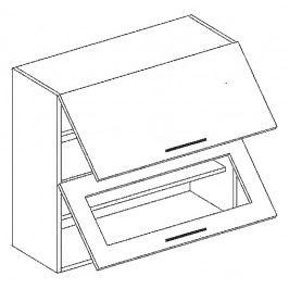 W80SP horní skříňka výklopná SANDY STYLE