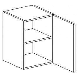 W60P horní skříňka jednodvéřová SANDY STYLE