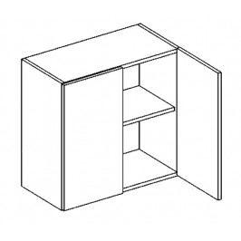 W60 horní skříňka dvojdvéřová SANDY STYLE