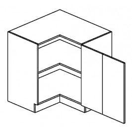 DRPP dolní skříňka rohová SANDY STYLE 80x80 cm
