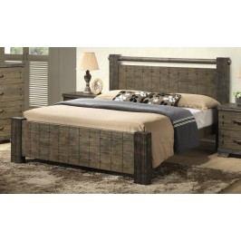 Moderní manželská postel 180x200 cm s roštem KN324