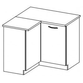 DRP dolní rohová skříňka LIMED levá