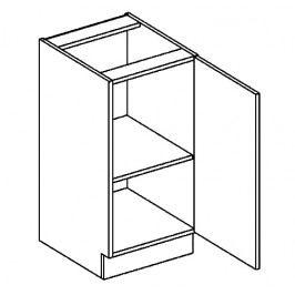 D40P dolní skříňka jednodvéřová PREMIUM olše