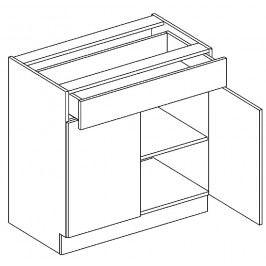 D80/S1 dolní skříňka dvojdvéřová MIA