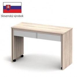 PC stůl rozkládací v moderním dekoru dub sonoma VERSAL NEW