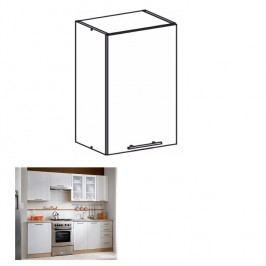Horní skříňka, dub sonoma / bílá, MONDA W60
