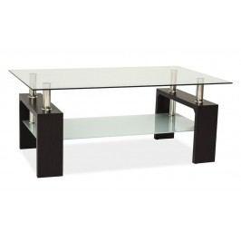 Stylový konferenční stolek v barvě wenge typ II BASIC KN126