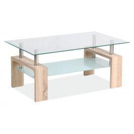 Stylový konferenční stolek v barvě dub sonoma typ II BASIC KN126
