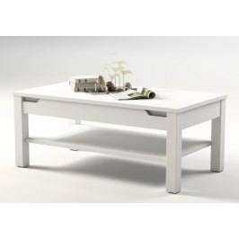 Konferenční stolek bílá lesk ALASKA