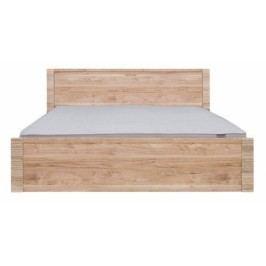 Manželská postel RAFLO LOZ/160 ořech salev 160x200 cm
