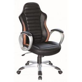 Kancelářské křeslo Q-112  černá/hnědá