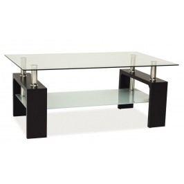 Stylový konferenční stolek v barvě wenge typ BASIC KN128