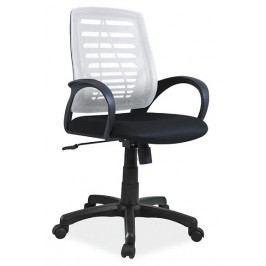 Čalouněné kancelářské křeslo v šedé barvě KN054