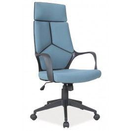 Moderní kancelářské křeslo v modré barvě KN055