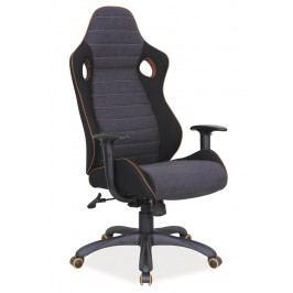Kancelářské křeslo Q-229 černá/šedá