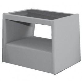 Čalouněný noční stolek KN491 IX s výběrem čalounění