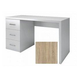Psací stůl se zásuvkami dub sonoma KN010