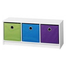 Úložný box modré barvy F1023