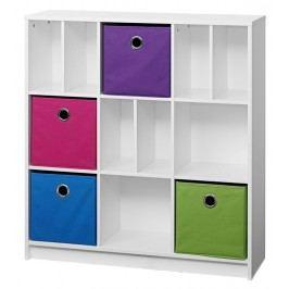 Úložný box fialové barvy F1023