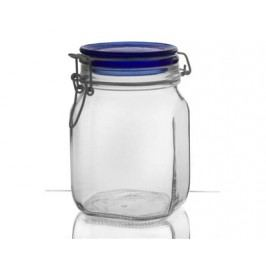 BORMIOLI Dóza skleněná FIDO Blue 1 l