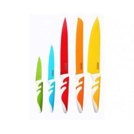 Sada nožů s nepřilnavým povrchem SYMBIO NEW Colore, 5 ks