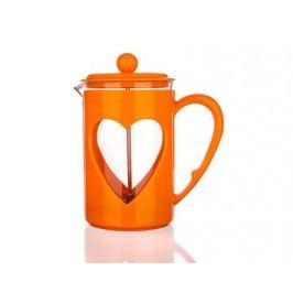 Konvice na kávu DARBY 0,8 l, oranžová