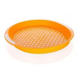 Tác protiskluzový plastový prům. 40 x 4 cm, oranžový