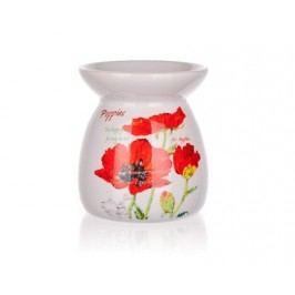 Aroma lampa keramická RED POPPY 10,2 cm, OK
