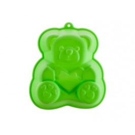 Forma silikonová CULINARIA Green 14,2 x 12,3 x 3,5 cm, medvídek