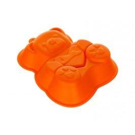 Forma silikonová CULINARIA Orange 14,2 x 12,3 x 3,5 cm, medvídek