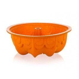 Forma na bábovku silikonová CULINARIA Orange 25 cm, s reliéfem