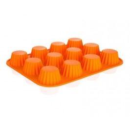 Forma na 12 košíčků silikonová CULINARIA Orange 32 x 24 x 3,4 cm